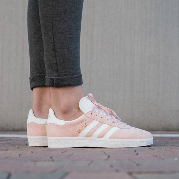 Adidas Gazelle Pink Suede Sneakers size 5.5